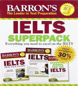 Barrons IELTS Super pack
